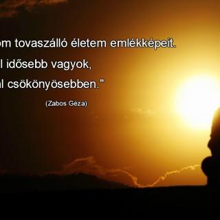 Zabos Géza idézet