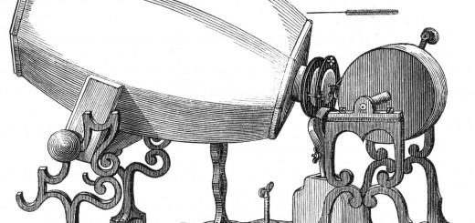 Fonoautográf 1859-ből.A világ első hangfelvevője, minden hangrögzitő őse.