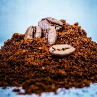 kávézacc, és só felhasználása